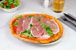 Pizza crudo di Parma DOP