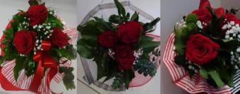 Buket 3 crvene ruže