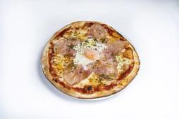 Pizza bismarck (33 cm.)