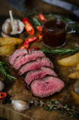 "Стейк ""Філе Медальйон"" Dry-aged beef (суха витримка 21 день)(300/100г)"