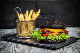 Бургер з витриманої яловичої вирізки (280/100/30г)