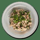 Ларб. Фарш з каффір-лаймом, рисовою пудрою, рибним соусом (230г)