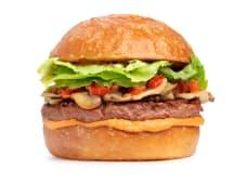 Бургер VEGAN MEAT