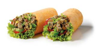 Spicy Vegan Patty SING wrap