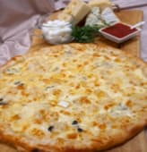 Pizza 5 formaggi bianca Ø33cm
