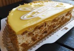 Торт Лимонний половинка (550г)