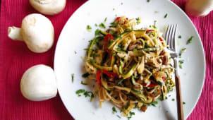 Noodles Salteados