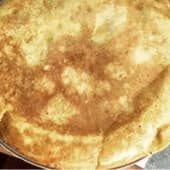 Tortilla con cebolla