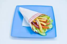 Gyros vegetarian la pita