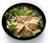 Zupa Pho 450ml z pierożkami Gyoza 5szt