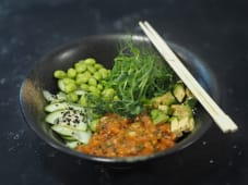 Sake Bowl Tatar z łososia