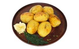 Картопля, запечена на мангалі (100г)
