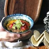Хумус з коржиками (150/80г)