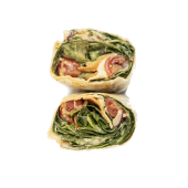 Wrap hummus hot