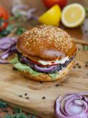 Гамбургер говяжий