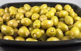 Olives Vertes farcies à la Pâte de Thon