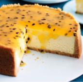 Cheesecake De Maracuyá (26 cm.)