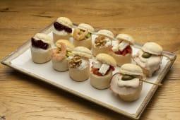 10 mini-bōl salate miste