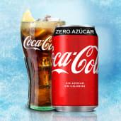 Coca-Cola Zero Azúcar lata, 33cl