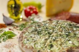 Pizza Con zucchini