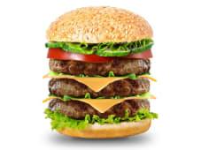 Монстр чизбургер