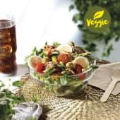 Menú Ensalada Mediterránea con heura vegan