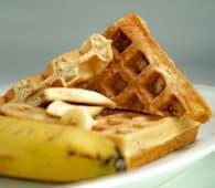 Waffles de Avena y Banana congelados