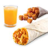 Combo A.M. Burrito Crunchy