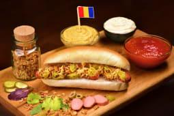 Hot-Dog cu carnati