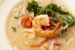 Кокосовий суп з креветкою (350г)