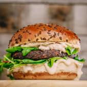 Humus burger Double