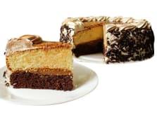Torta infantil mediana de vainilla y chocolate (25 porciones)