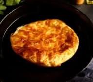 Хачапурі з сиром з листкового тіста (500г)