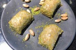 Dolma Baklava à la pistache