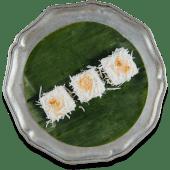 Том Ям панакота з кокосовим згущеним молоком та арахісом (100г)