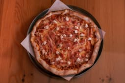 18. Bacon, Tomate e Mozarela Fresca Pequena  (26,5cm)