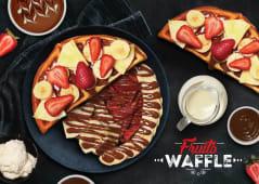 Fruits Waffle