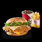 Meniu Real Burger Picant