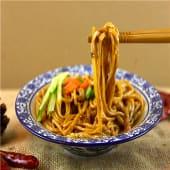 Tallarines estilo Wenzhou