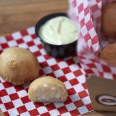 Pastelitos de Patatas y Queso Frito