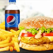 Meniu XL Cheeseburger pui