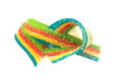 Gomitas tiras arcoíris (6 Oz.)
