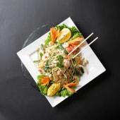 Yam Wun Sen - Glass Noodles With Shrimps