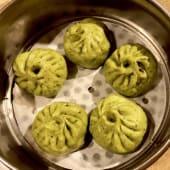 Xiaolongbao de verdura y setas (5 uds.)