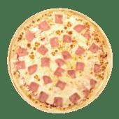 Pizza sin gluten jamón (mediana)