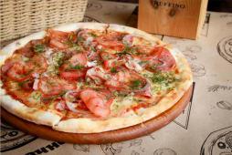 Піца Супер М'ясна з салямі та беконом (280г)