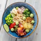 Chirashi sushi bowl