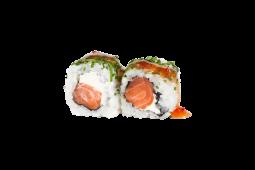 Uramaki Salmon White Cheese (4 Peças)