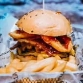 H4 Jack Daniels burger