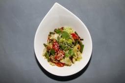 Салат с фасолью и с грибами (300 гр.)